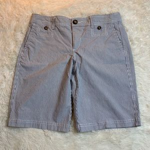 Docker's Chino Striped Women's Shorts Size 6
